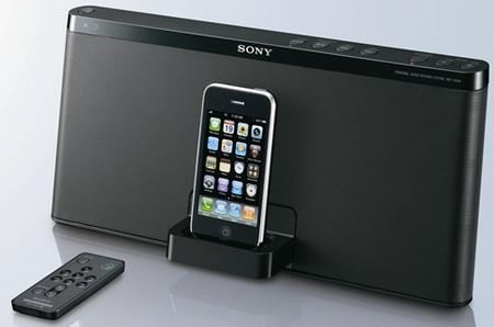 Sony RDP-X50iP iPod iPhone Speaker Dock