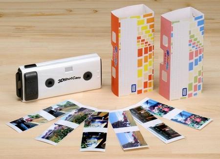 Takara Tomy 3D Shot Cam 3D Camera package
