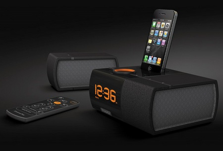 XtremeMac Luna SST Alarm Dock ipod iphone