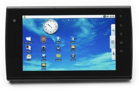 eLocity A7 Android Tablet front landscape