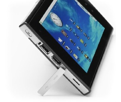 eLocity A7 Android Tablet kickstand