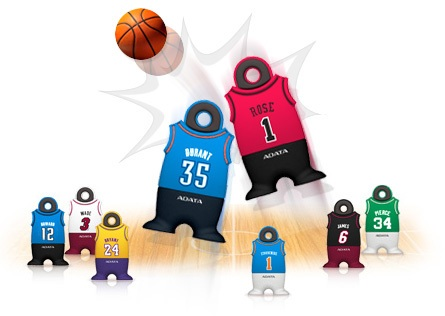 A-DATA NBA Jersey USB Flash Drives