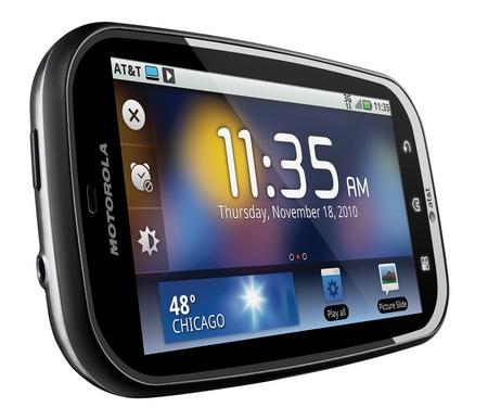 AT&T Motorola BRAVO with MOTOBLUR Android Smartphone
