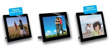 AgfaPhoto AF5108MS, AF5088MS and AF5078MS Digital Photo Frames