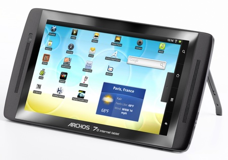 Archos 70 Android Internet Tablet kickstand