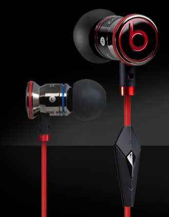Beats by Dr. Dre iBeats in-ear headphones for iPad, iPhone, iPod