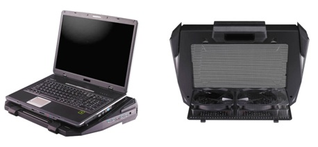 CM Storm SF-19 Gaming Notebook Cooler with Four USB 3.0 Ports 1