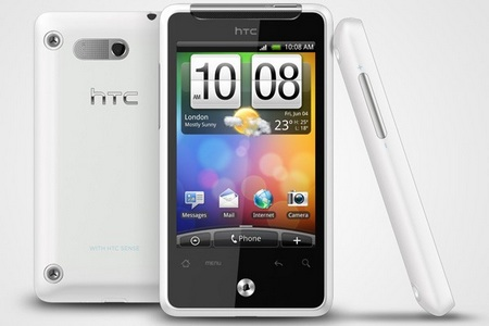 HTC Gratia Android phone white