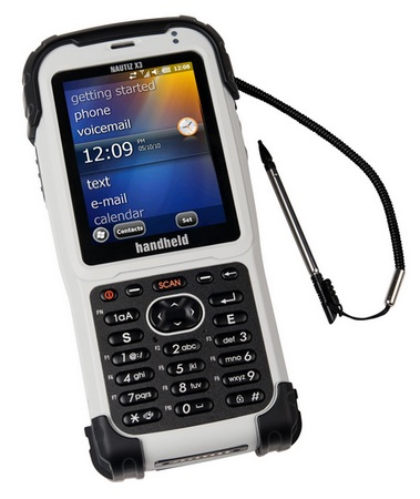 Handheld Nautiz X3 Rugged PDA for Field Workers