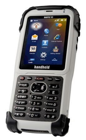 Handheld Nautiz X3 Rugged PDA