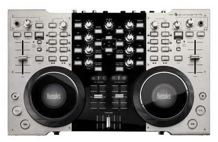 Hercules DJ Console 4-Mx for Pro DJs top