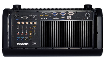 InFocus IN5533 and IN5535 HD Projector for Large Venues back