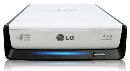 LG BE12LU30 eSATA USB External Blu-ray Burner