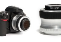 Lensbaby Scout with Fisheye SLR camera lens