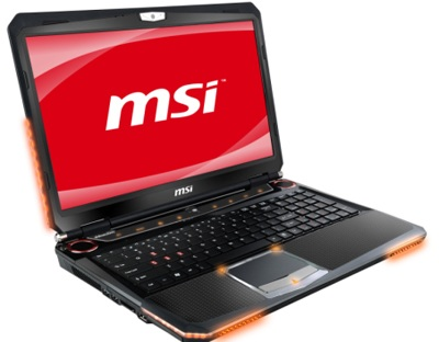 MSI GT663 Gaming Notebook with 1.5GB GeForce GTX460M