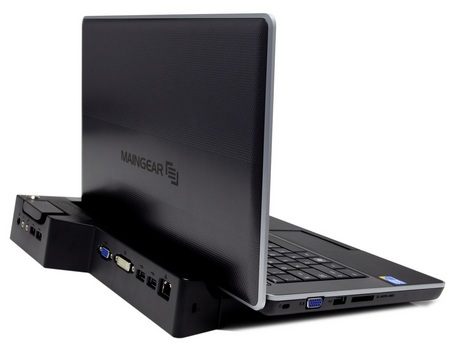 Maingear Clutch 13 and Clutch 15 Ultra Portable Notebook with dock