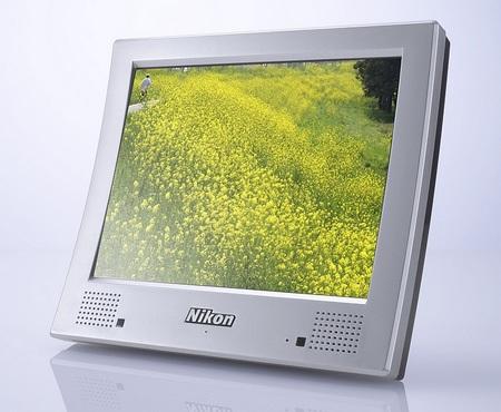Nikon NF-300i 3D Digital Photo Frame angle