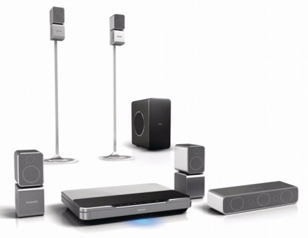 Philips HTS9520 Immersive Sound HD Home theater with 360Sound