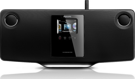 Philips Streamium MCi298 Wireless Micro Hi-Fi System front