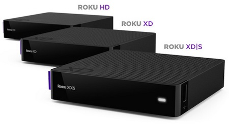Roku HD, XD and XDS HD Streaming Players
