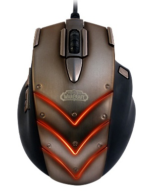 SteelSeries Cataclysm WoW MMO Gaming Mouse