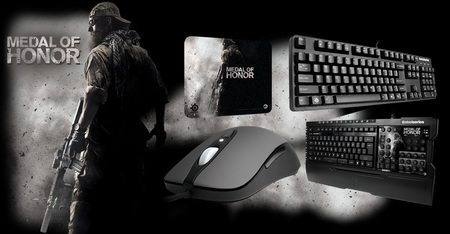 SteelSeries Medal of Honor Gaming Peripherals