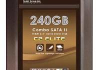 TEAM Combo C2 Elite SSD with SATA USB Dual Interface