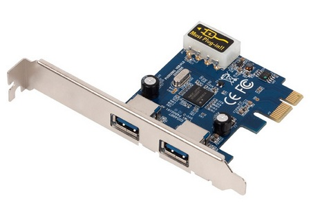 USRobotics USR8402 USB 3.0 PCI Express adapter