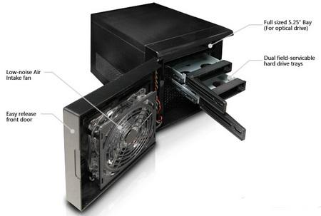 VidaBox CubeCase Mini-ITX Server Media Center Chassis 1