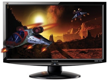 ViewSonic V3D241wm-LED 3D-Capable Full HD LED Display