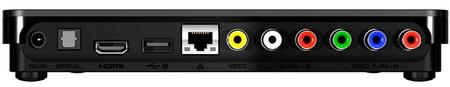 Western Digital WD TV Live Hub HD Media Player with 1TB HDD back