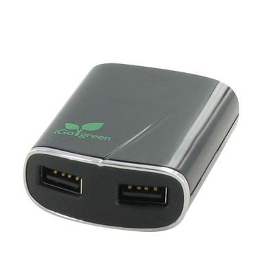 iGo Dual-USB Wall Charger
