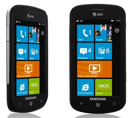 AT&T Samsung Focus SGH-I917 Windows Phone 7 Coming on 8 November