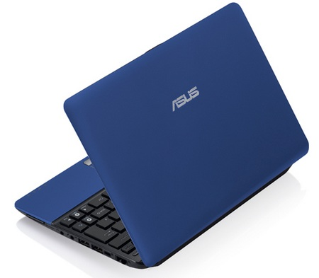 Asus Eee PC 1015T-MU17 Netbook packs AMD NILE V105 matte blue