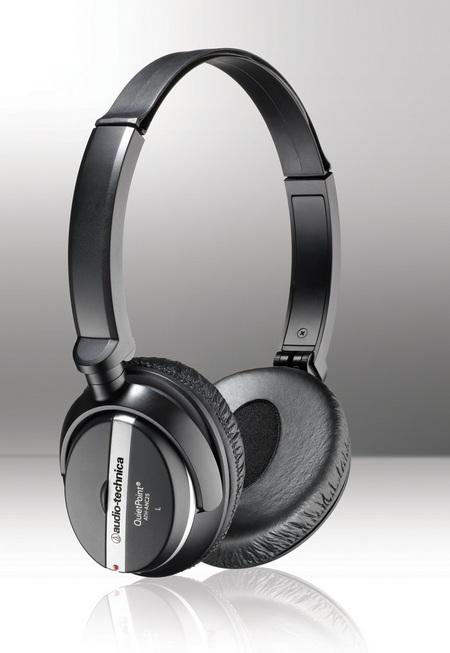 Audio-Technica ATH-ANC25 QuietPoint Active Noise-Cancelling Headphones