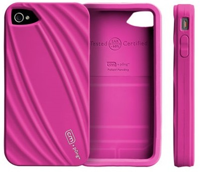Case-mate Bounce iPhone 4 Case Reduces Cellphone Radiation pink