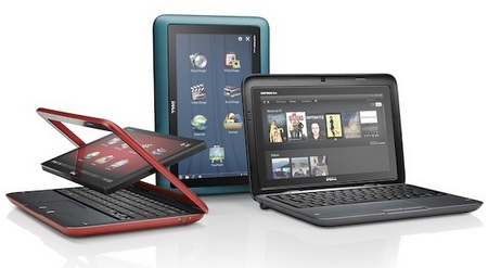 Dell Inspiron duo Convertible Tablet PC colors