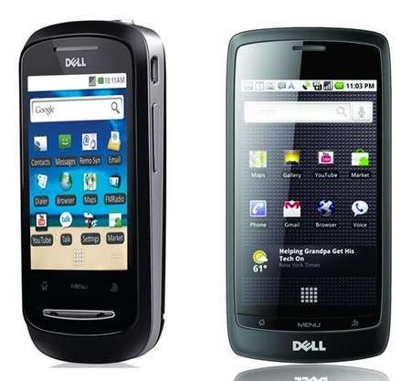 Dell XCD28 and XCD35 Android Smartphones for India
