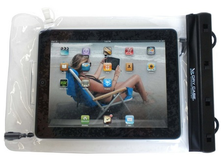 DryCase Waterproof Case for iPad, Kindle and e-book Readers