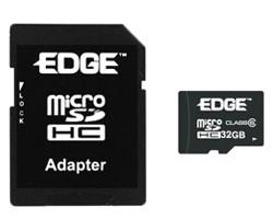 EdgeTech 32GB Class 4 microSDHC Memory Card