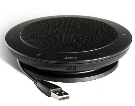 Jabra SPEAK 410 USB Speakerphone supports Microsoft Lync