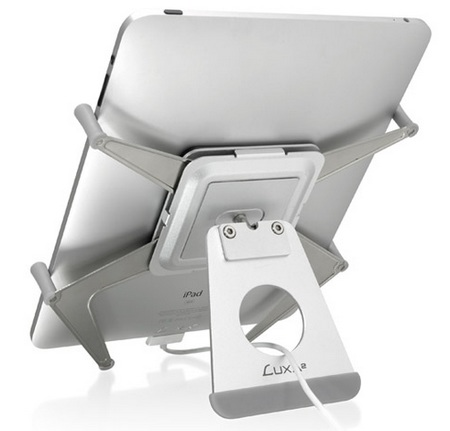 LUXA2 H6 iPad Mobile Holder back