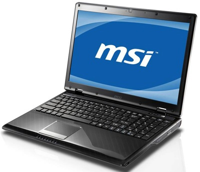 MSI CX620 3D Notebook