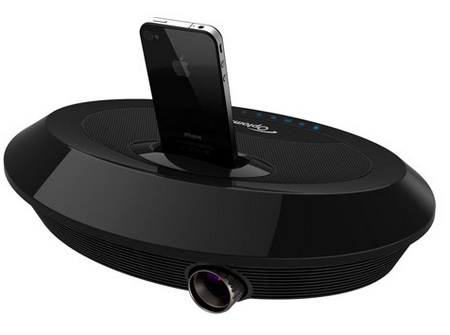Optoma Neo-i Pico Projector with iPhone Dock