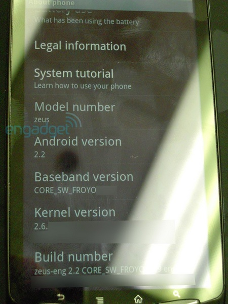 Sony Ericsson's PlayStation Phone Leaked system info