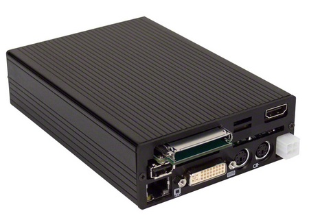 Stealth LittlePC LPC-100M UltraCompact Mini PC for Mobile and Embedded Applications rear