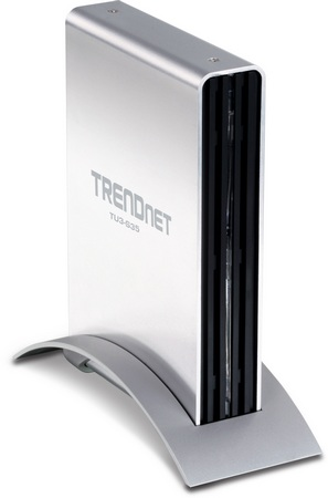 TRENDnet TU3-S35 3.5-inch USB 3.0 Hard Drive Enclosures stand