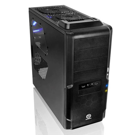 Thermaltake Dokker Mid-Tower Chassis with Top-mounted HDD Docking Station