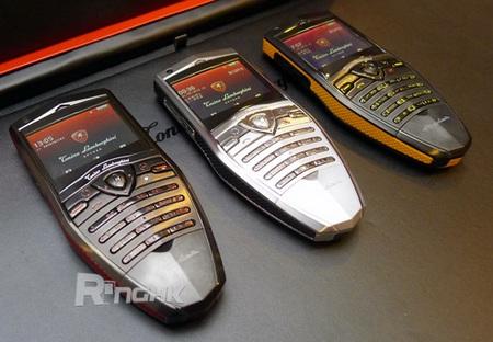 Tonino Lamborghini Spyder Series S-600, S-610, S-620 mobile phone