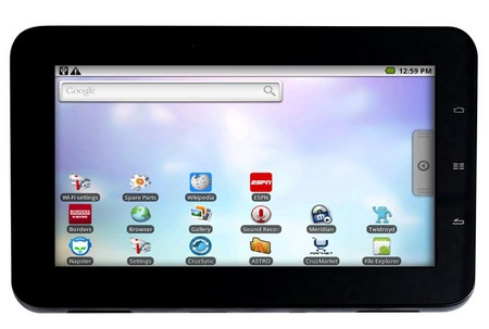 Velocity Micro Cruz Tablet Android Tablet landscape